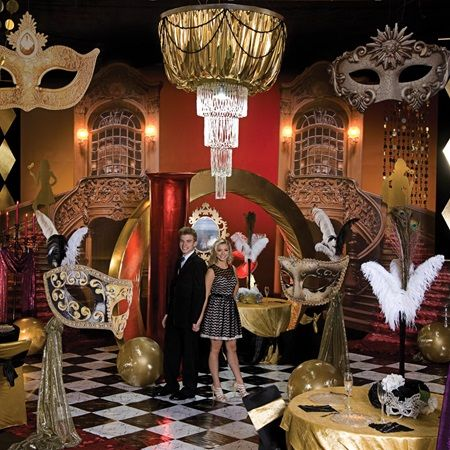 Masquerade Carnevale Complete Prom Theme Unmask A Prom