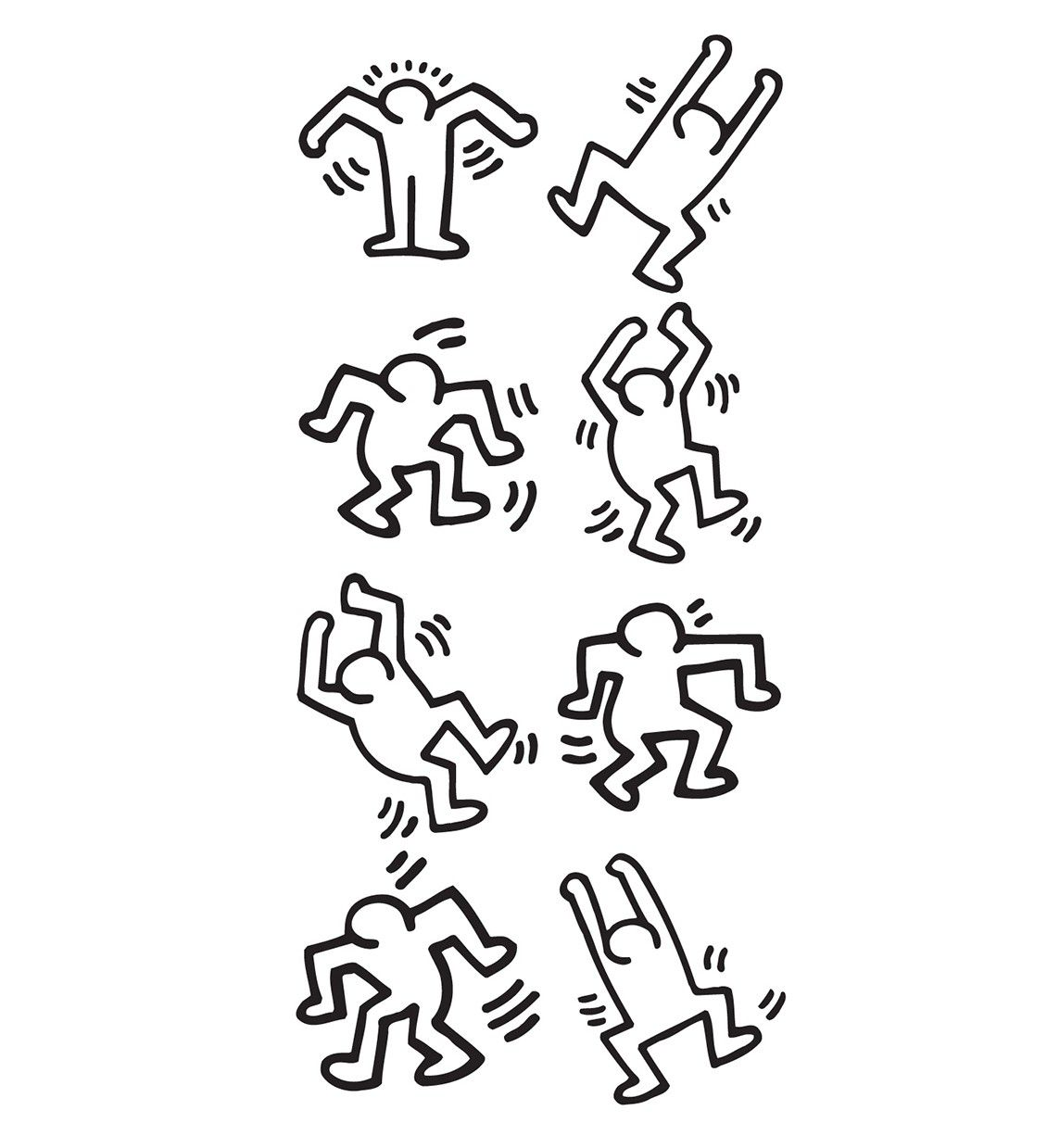 Keith Haring Dancers Part 76