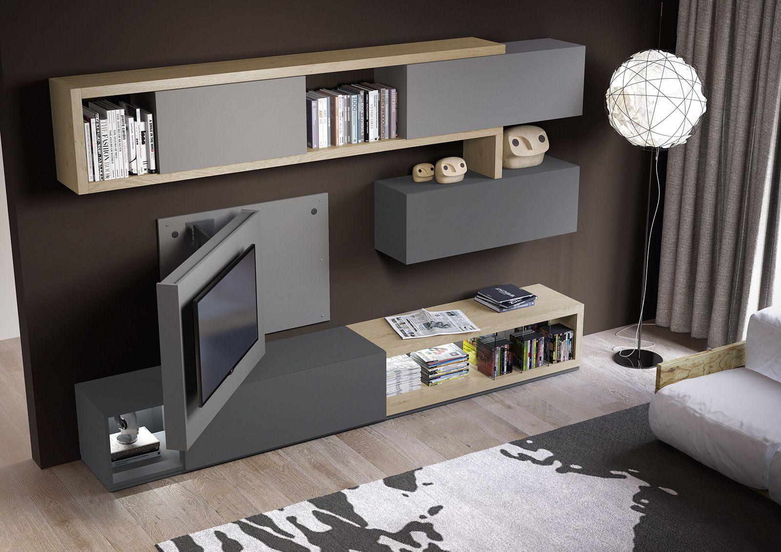 porta tv orientabile girevole X2 - Dettaglio Prodotto   painéis tv ...