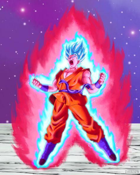 Goku Super Saiyan Blue Kaio Ken By Darkoz96 D9zxyg8 Png 1024 1280 Goku Super Saiyan Blue Anime Dragon Ball Super Goku Super Saiyan