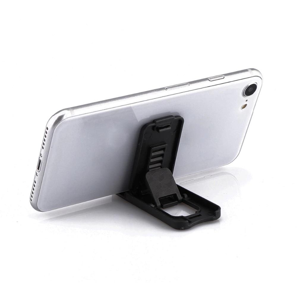 LG Phoenix 5 - CellularOutfitter Universal Phone Stand Holder, Black