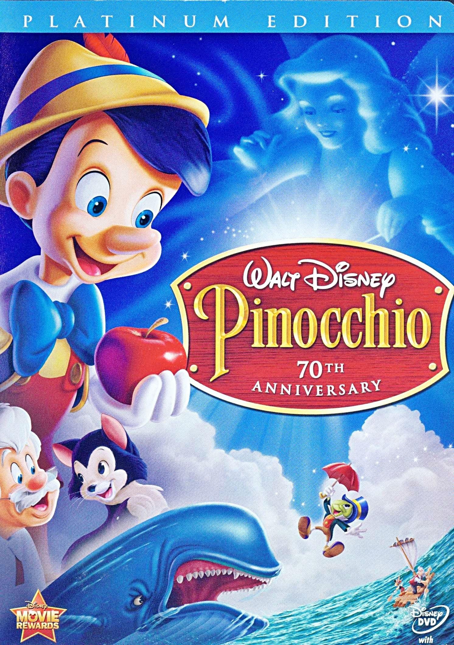 Walt Disney Walt Disney Characters Pinnochio TwoDisc
