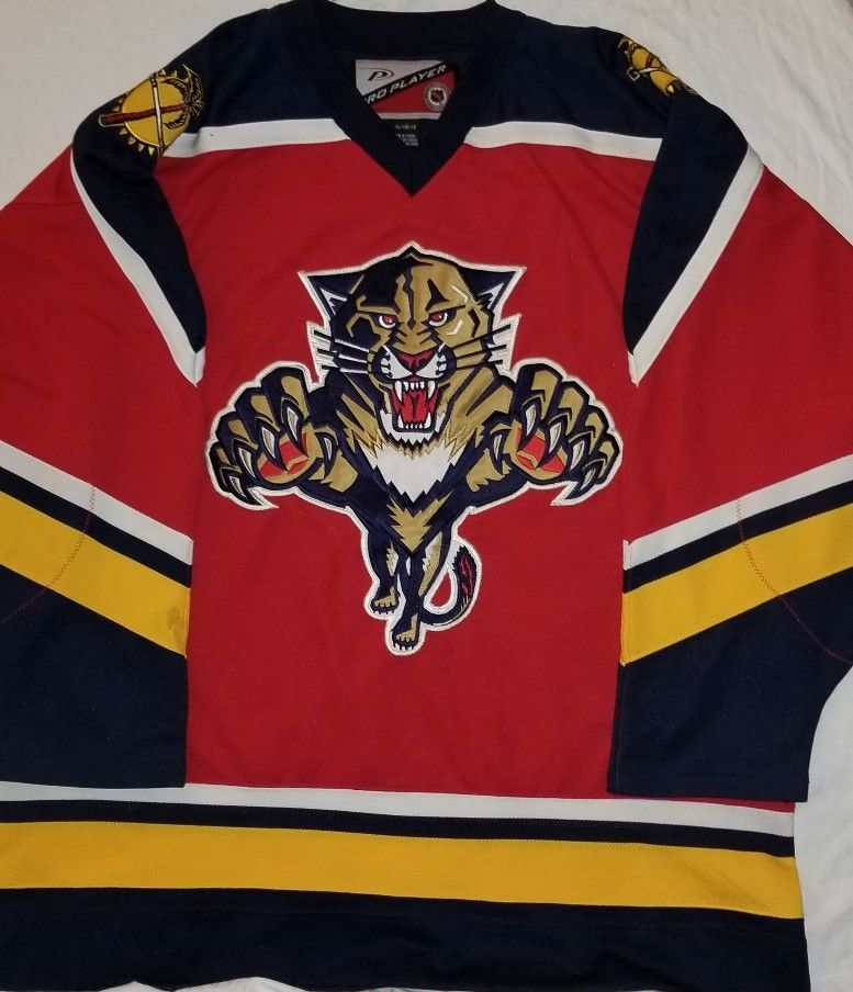 online store 01ee7 f4c8a NWOT Stitched 1999-00 Pro Player Florida Panthers Hockey ...