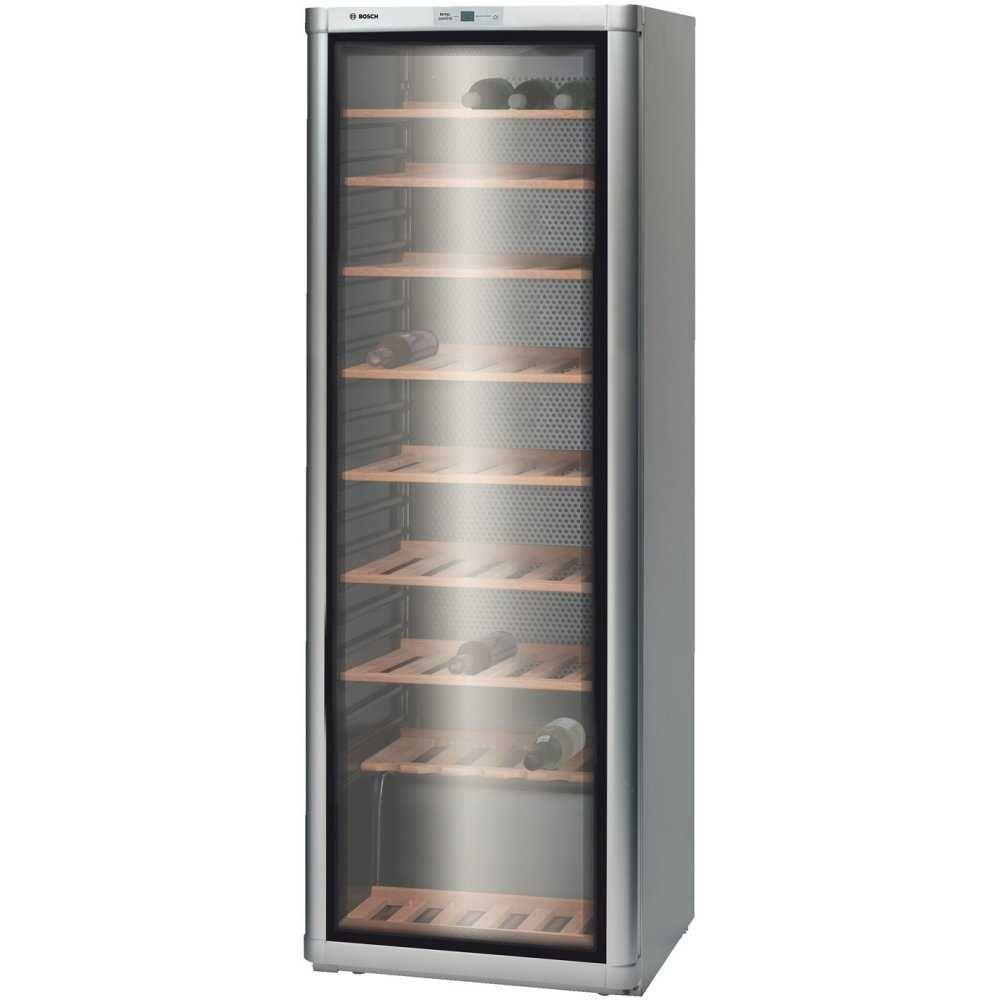 Bosch Ksw30v81gb 60cm Freestanding Wine Cooler Aluminium Appliance City Wine Cabinets Italian Wine Wine Cooler