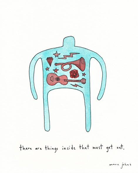There Are Things Inside That Must Get Out Marc Johns Does It Again Lovely