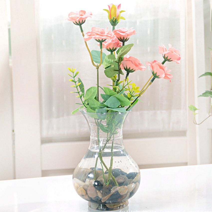 Modern Minimalist Transparent Plastic Vase Hydroponic Special Vase