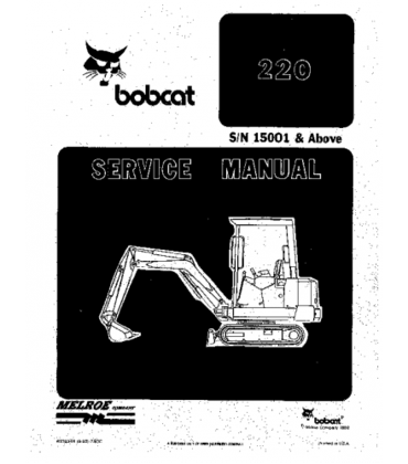 Click On The Picture And Download Bobcat 220 Hydraulic Excavator Service Repair Manual Creditrep Repair Manuals Credit Repair Companies Credit Repair Business