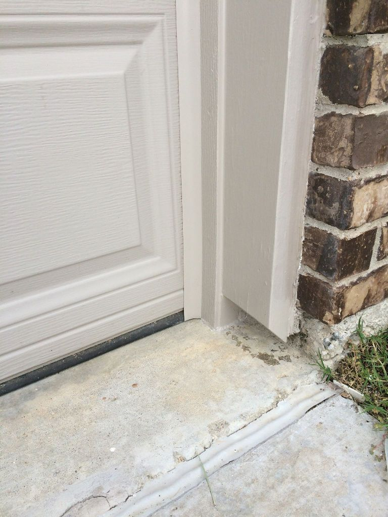 Picture Of Install Weatherstripping And Paint Garage Door Seal Garage Door Weather Stripping Garage Door Styles