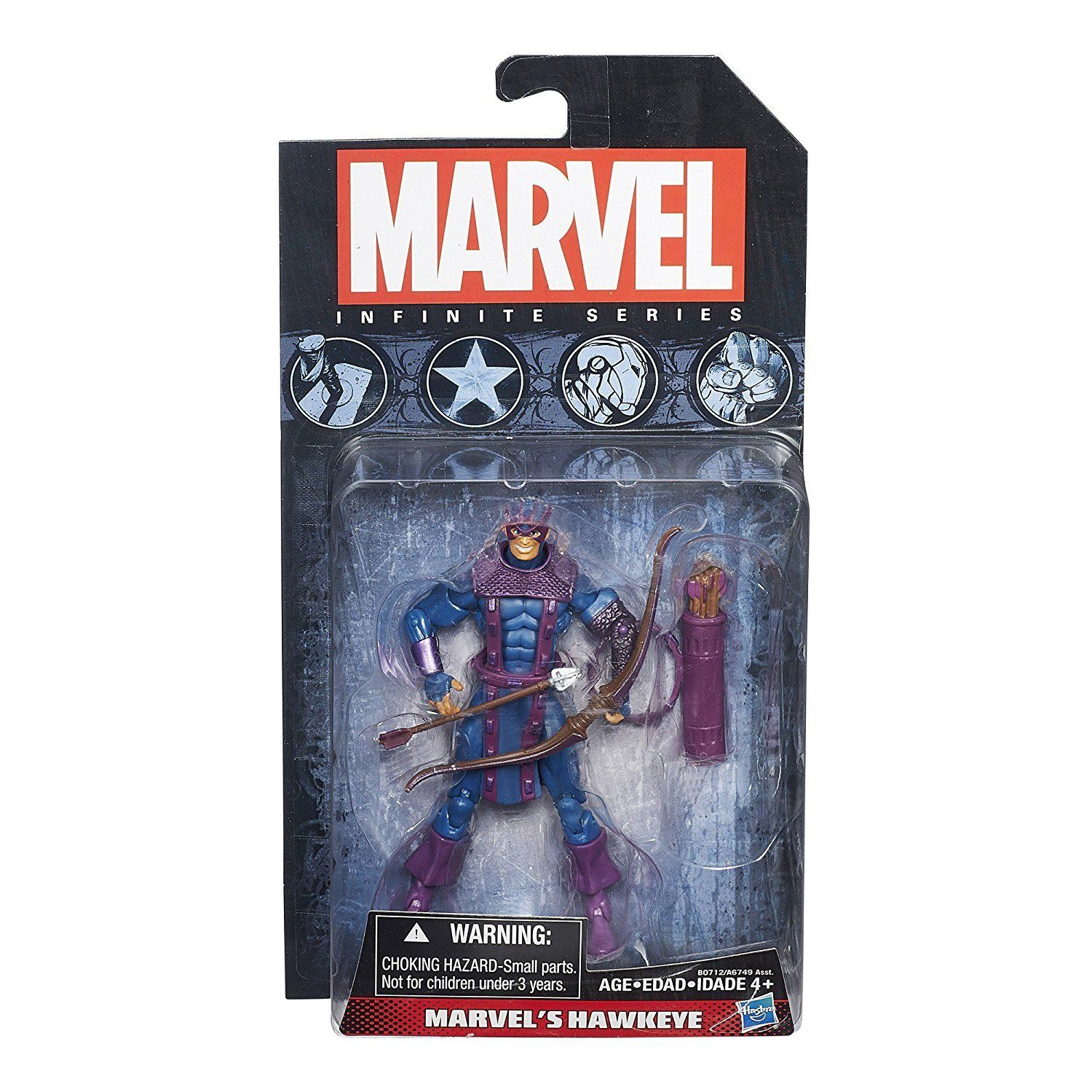"""STAR-LORD Marvel Infinite Series 3 3//4/"""" inch Action Figure Wave 4 2014"""