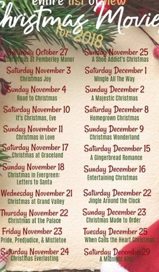 The Full list of every new Hallmark Channel Christmas movie debuting this season  Get in the holiday spirit with these holly jolly movies to enjoy all winter long  #christmas #christmasmovies #hallmark