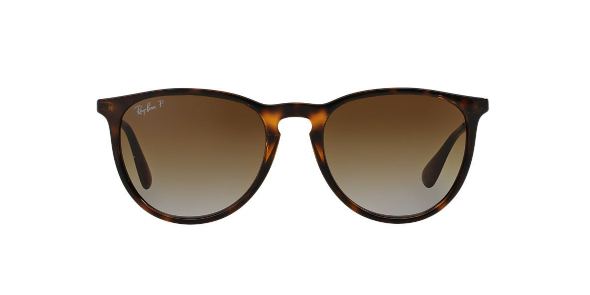 827891c9d2f0 RAY-BAN Tortoise RB4171 54 ERIKA Brown polarized lenses 54mm