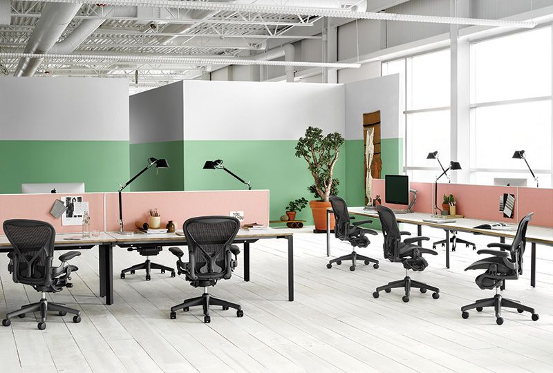 Layout Studio Office Furniture System Work Herman Miller Furniture Collaborative Furniture Farmhouse Dining Chairs