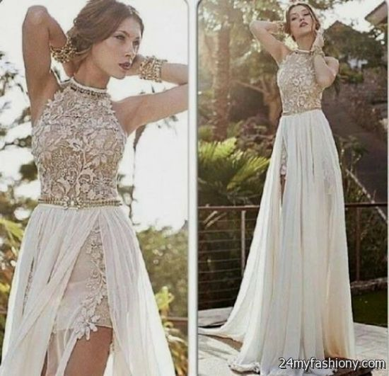White Lace Prom Dress Tumblr