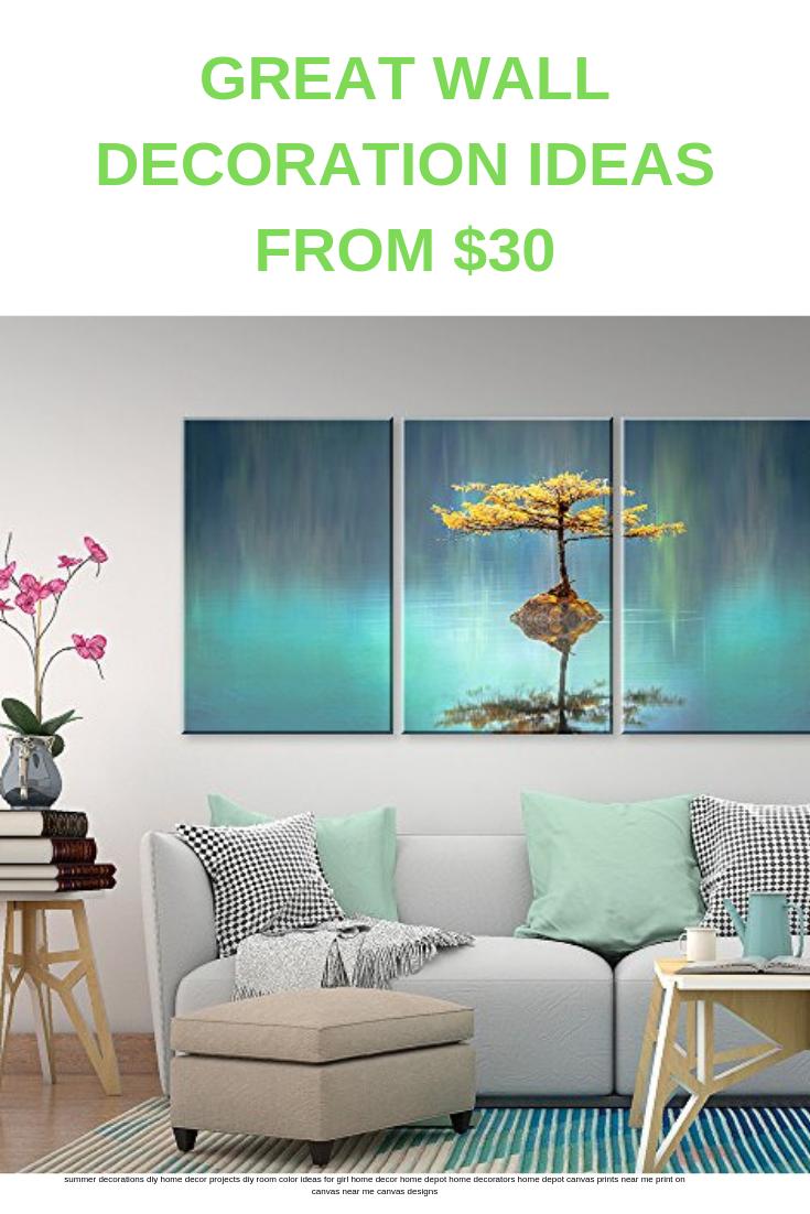 Modern Living Room Decor Home Decor Ideas Diy Art For Walls