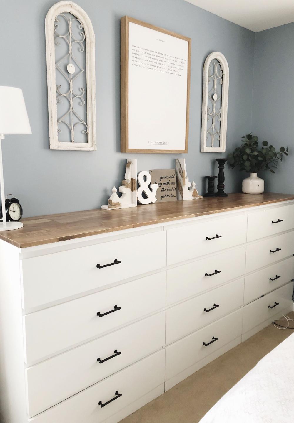 malm wood top Google Search Malm dresser, Ikea malm
