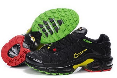 best loved 266f0 fb195 Mens Nike Air Max Tn Black Red Green Yellow Italy