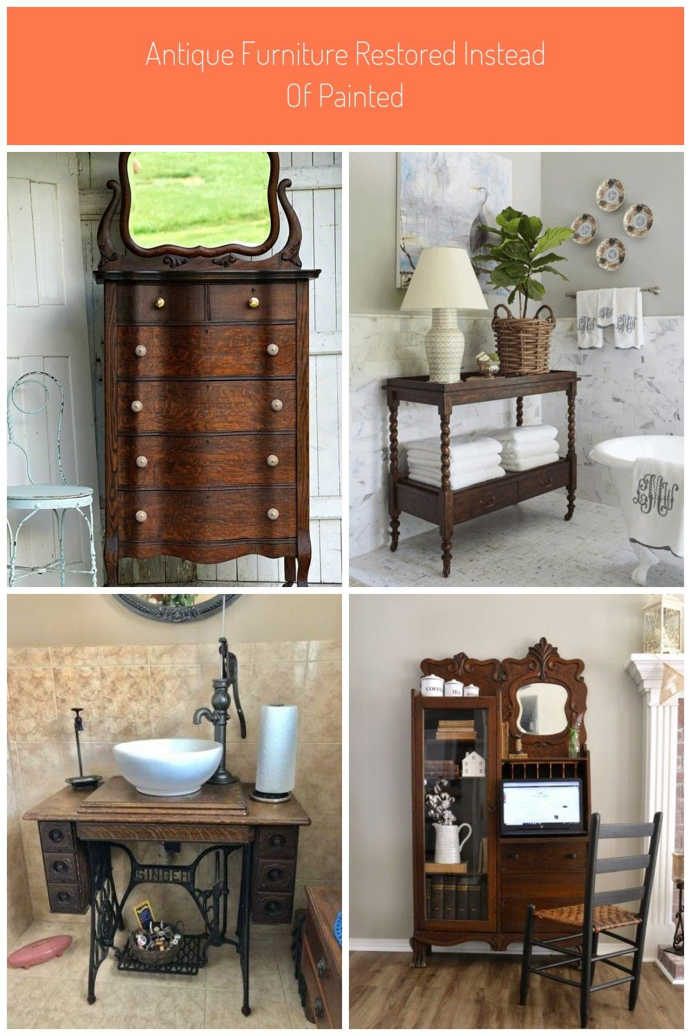 Antique Furniture Restored Instead Of Painted Antique Antiquefurniture Restore Oak Antique Furniture Antique Furniture Restored Instead Of Painted