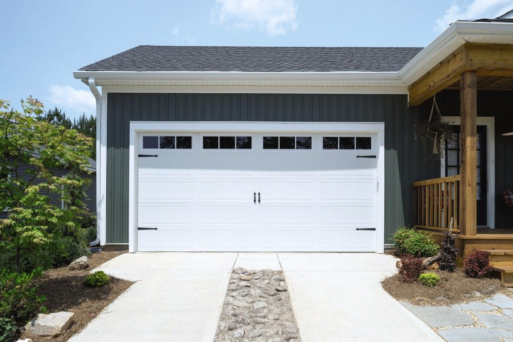 Model 9100 Sonoma Ranch White Stockbridge IV 3 Lite | Classic Steel Garage  Doors Model 9100 U2013 9600 | Pinterest | Steel Garage And Garage Doors
