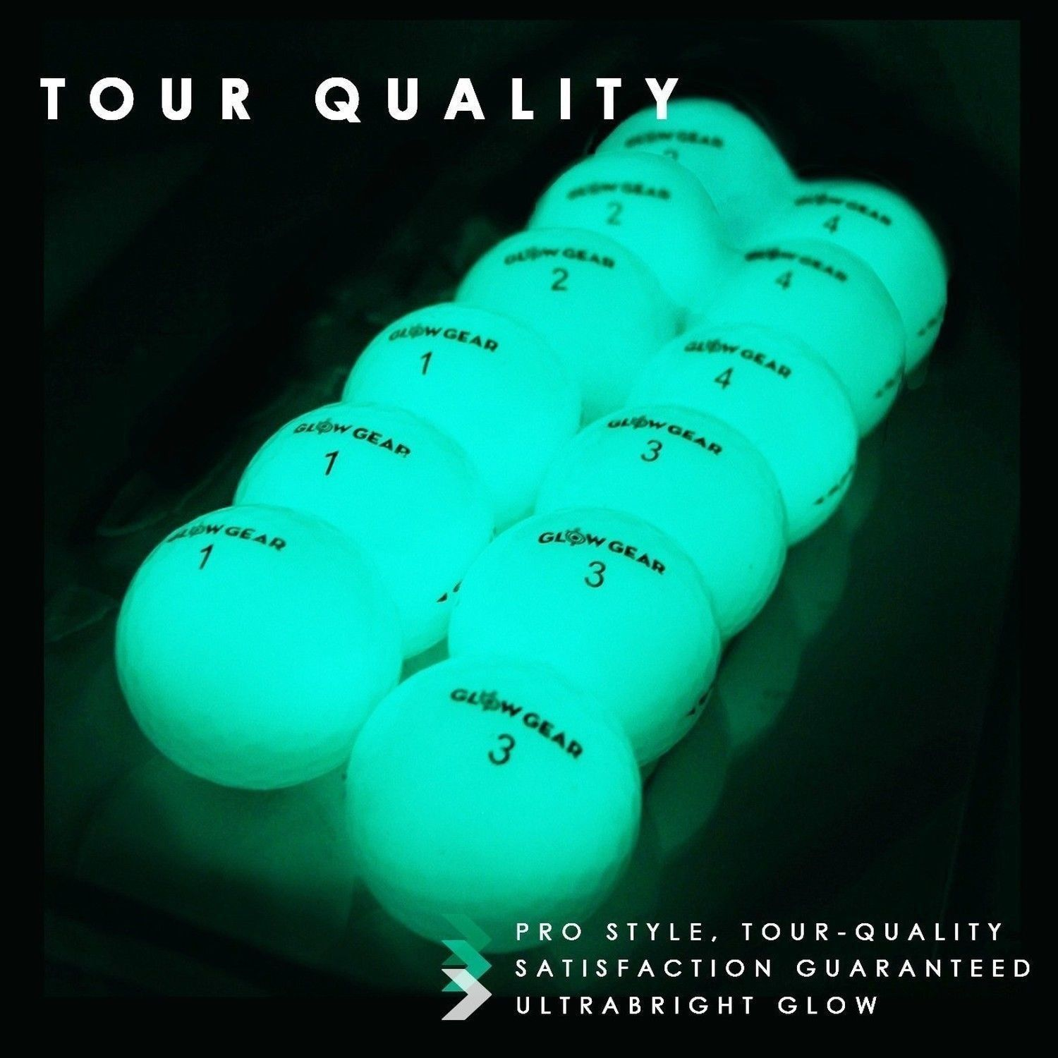 Glow V1 Night Golf Balls Best Hitting Ultra Bright Glow Golf Ball Compress Awesometaylormadegolfclubs Golf Ball Gift Golf Ball Golf Tips