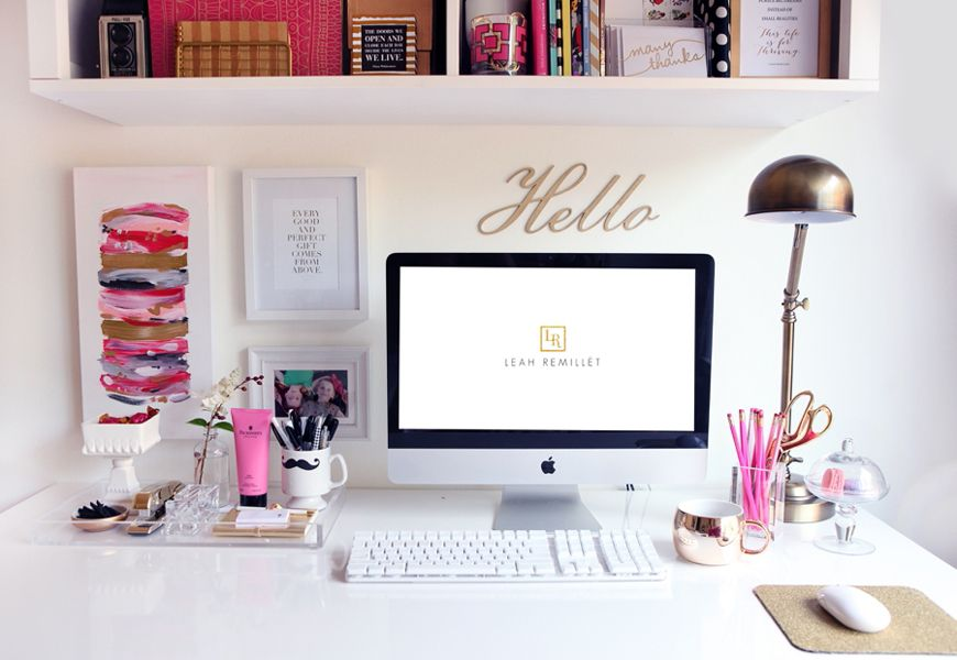 Perfect 9 Vibrant Ways To Decorate Your Desk
