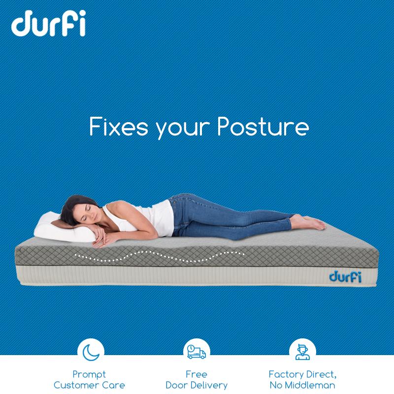 Sleep In Right Posture Postures Fix Your Posture Memory Foam Mattress
