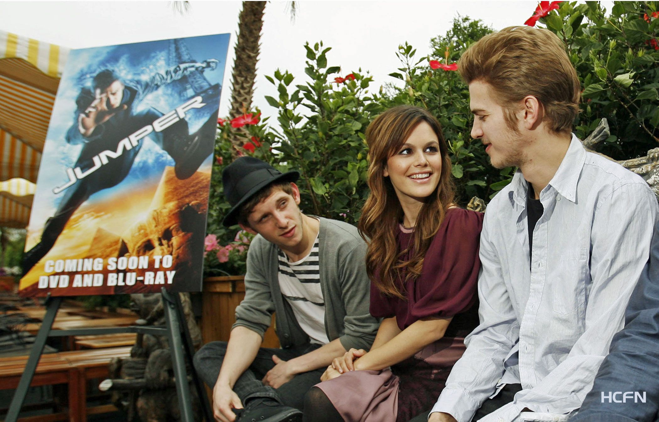 Hayden dans le film JUMPER