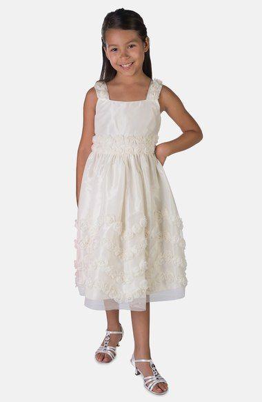 69ec6db487fe0 Sorbet Tulle Flower Tier Dress (Toddler Girls, Little Girls & Big Girls)  available at #Nordstrom