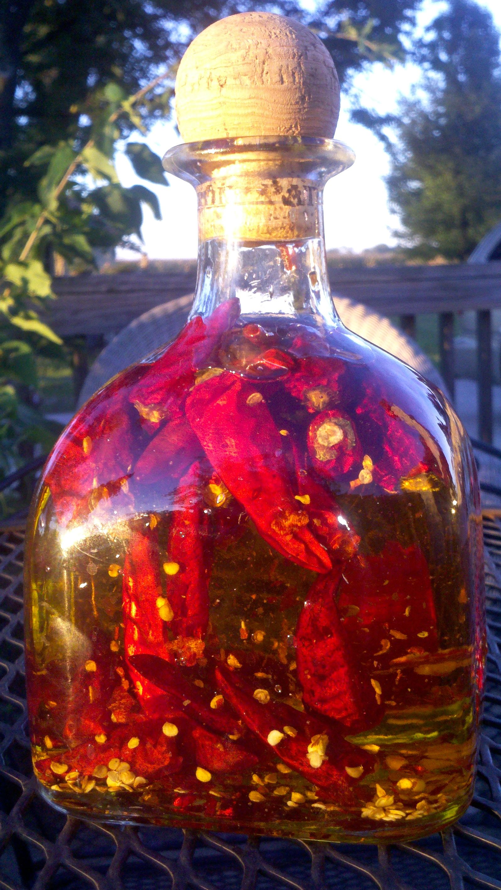 Easy Chilli Oil Hot Chili Oil Chilli Recipes Infused Oil Recipes