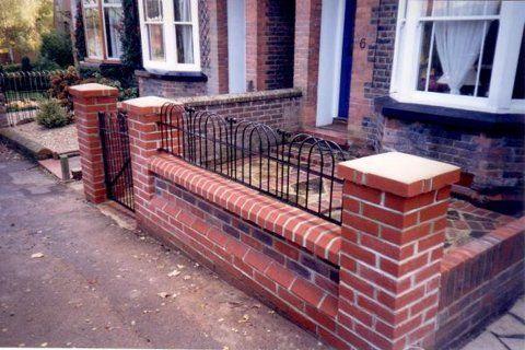 14 Garden Brick Walls Ideas Brick Garden Brick Garden