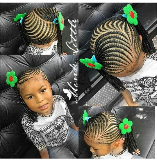 Kids Braided Hairstyles Little Girl Braid Styles Lil Girl Hairstyles Braids For Kids