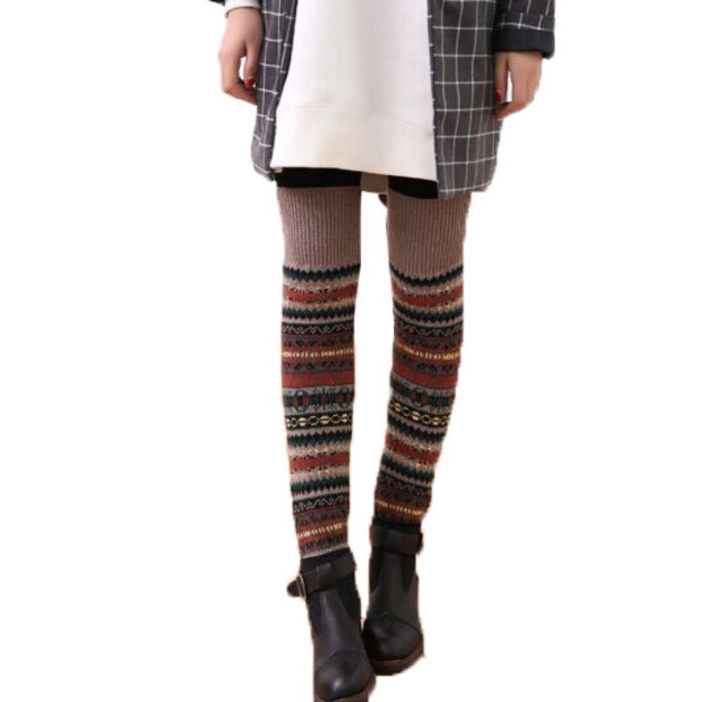 Buy bohemis ladies winter over knee long knit crochet leg warmers bohemis ladies winter over knee long knit crochet leg warmers legging stocking bankloansurffo Image collections