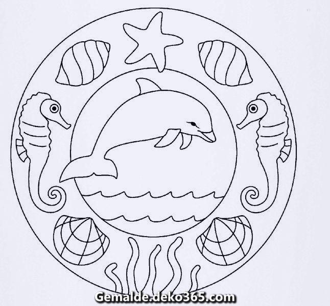 Wunderschone Zugehoriges Gemalde Mandala Coloring Mosaic Patterns Simple Mandala