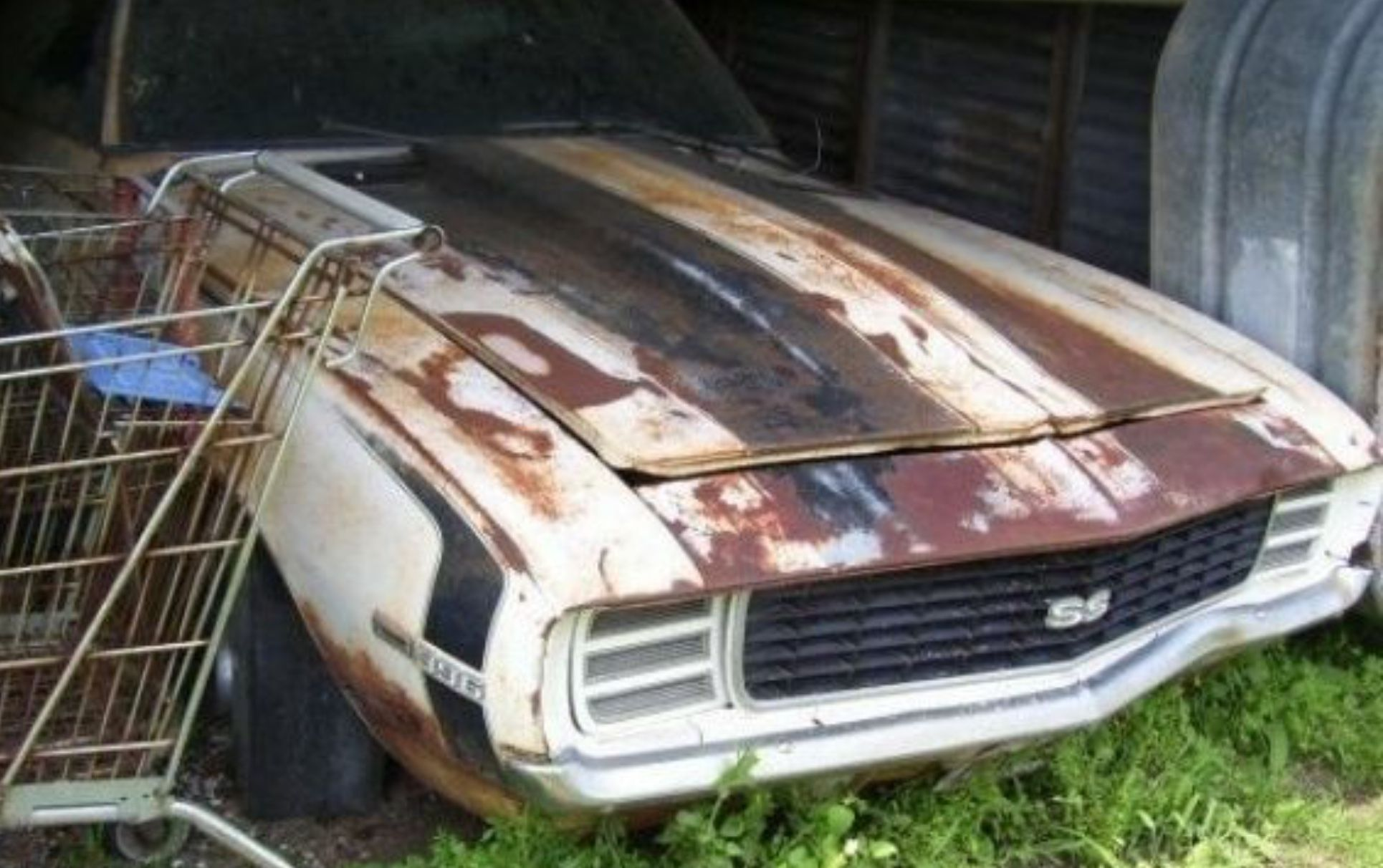 Pin by Tim on Crashed abandoned old cars Muscle cars