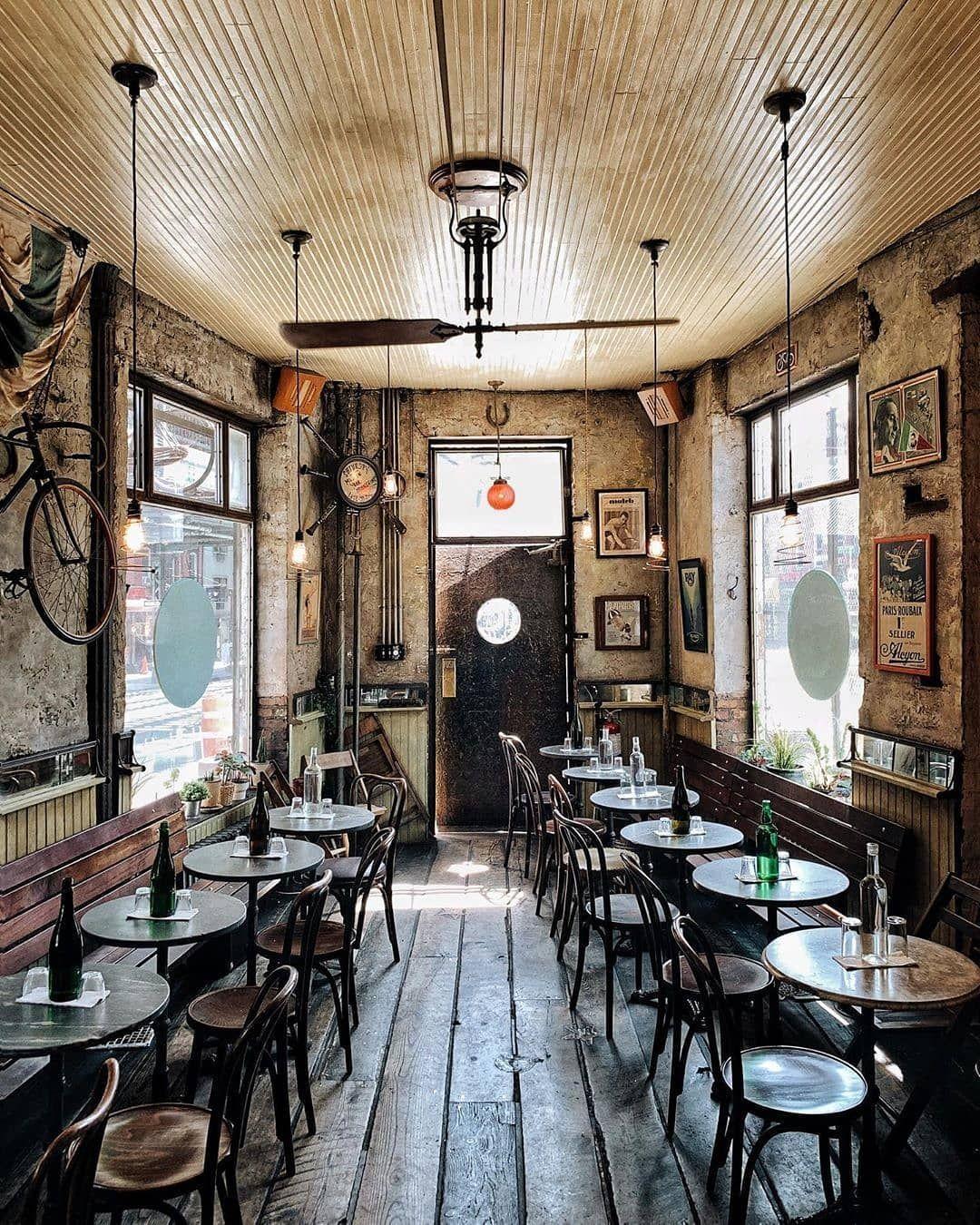 Design Dautore Com On Instagram R Bar Velo Brooklyn Nyc By Heydavina Nyc Interior Interiors Bar Br Cafe New York Bar Design Restaurant Design