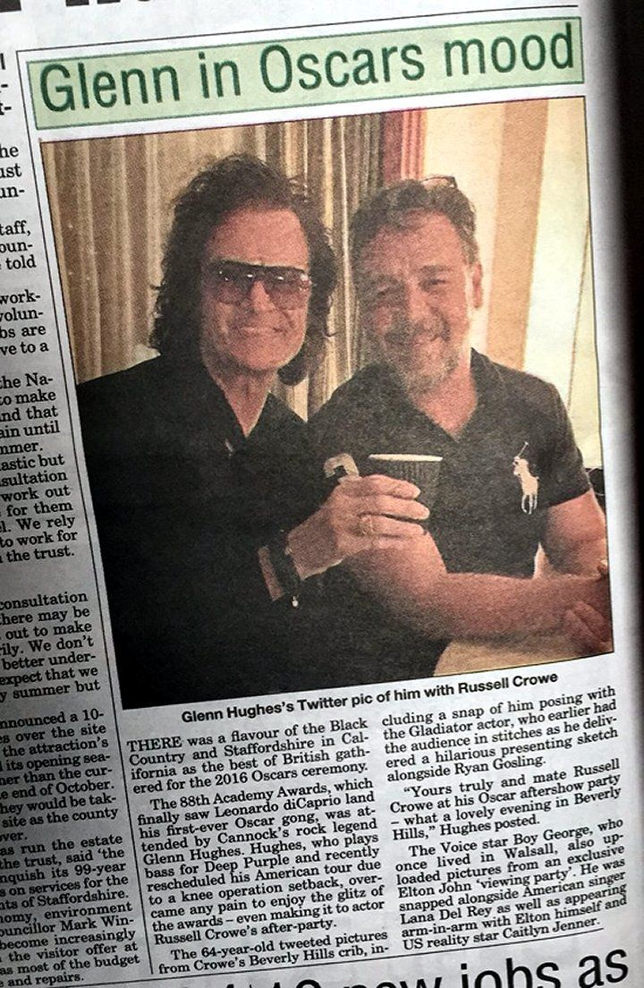 Good morning... in the newspaper in the UK... coffee anyone ?