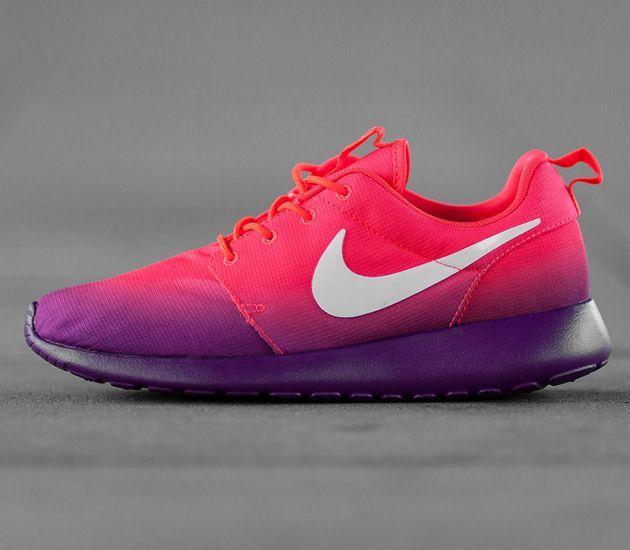competitive price e242d efd07 Nike WMNS Roshe Run-Laser Crimson-White-Bright Grape