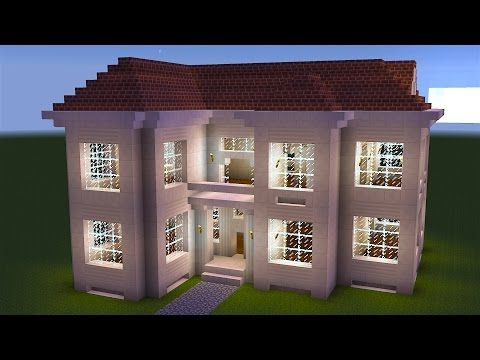 Minecraft   How To Build A Great Mansion   YouTube