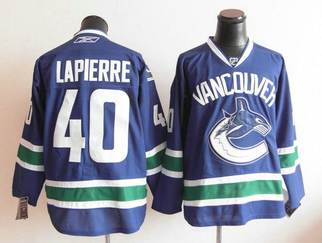 nhl jersey vancouver canucks 40 maxim lapierre home jersey