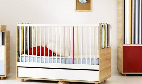 Lit bébé évolutif 140x70 EVOLVE Le môme arrive Pinterest Lit