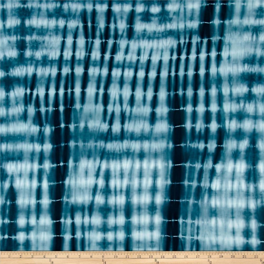 0631d0dbd46 Shibori Rayon Bamboo Jersey Knit Stripe Blue Haze from @fabricdotcom This  stretch bamboo rayon jersey knit fabric has an ultra soft hand, a fluid  drape and ...