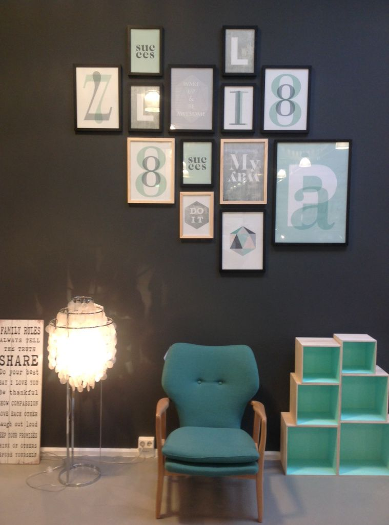 DIY – Wie ordne ich Bilderrahmen an die Wand? | Decor | Pinterest ...