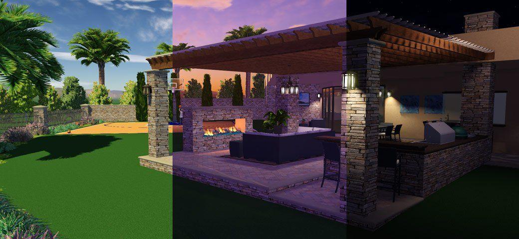 Day And Night Landscape Design Software Landscape Design