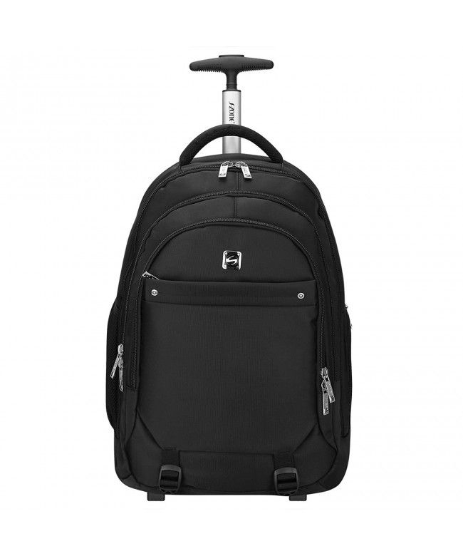 Wheeled Backpack Rolling Carry-on Luggage Travel Duffel Bag - Black -  CO183W3C5GL  Bags  Handbags  Backpacks  gifts  Style d4d49e3deb