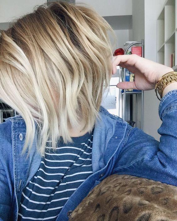 23+ Short blonde bob hairstyles 2016 ideas in 2021