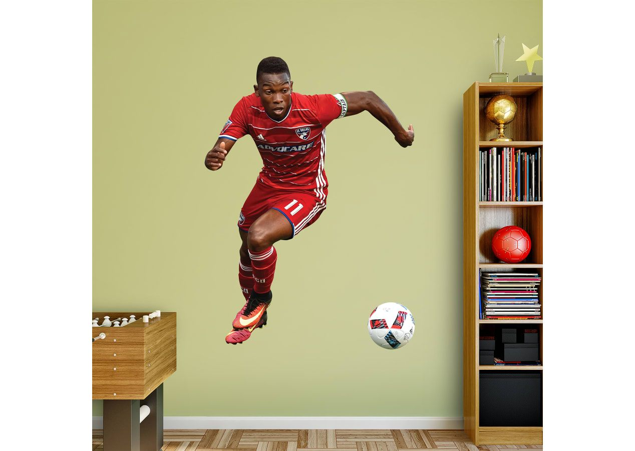 Soccer Bedroom Ideas. Fabian Castillo Fathead Wall Decal. Visit us ...