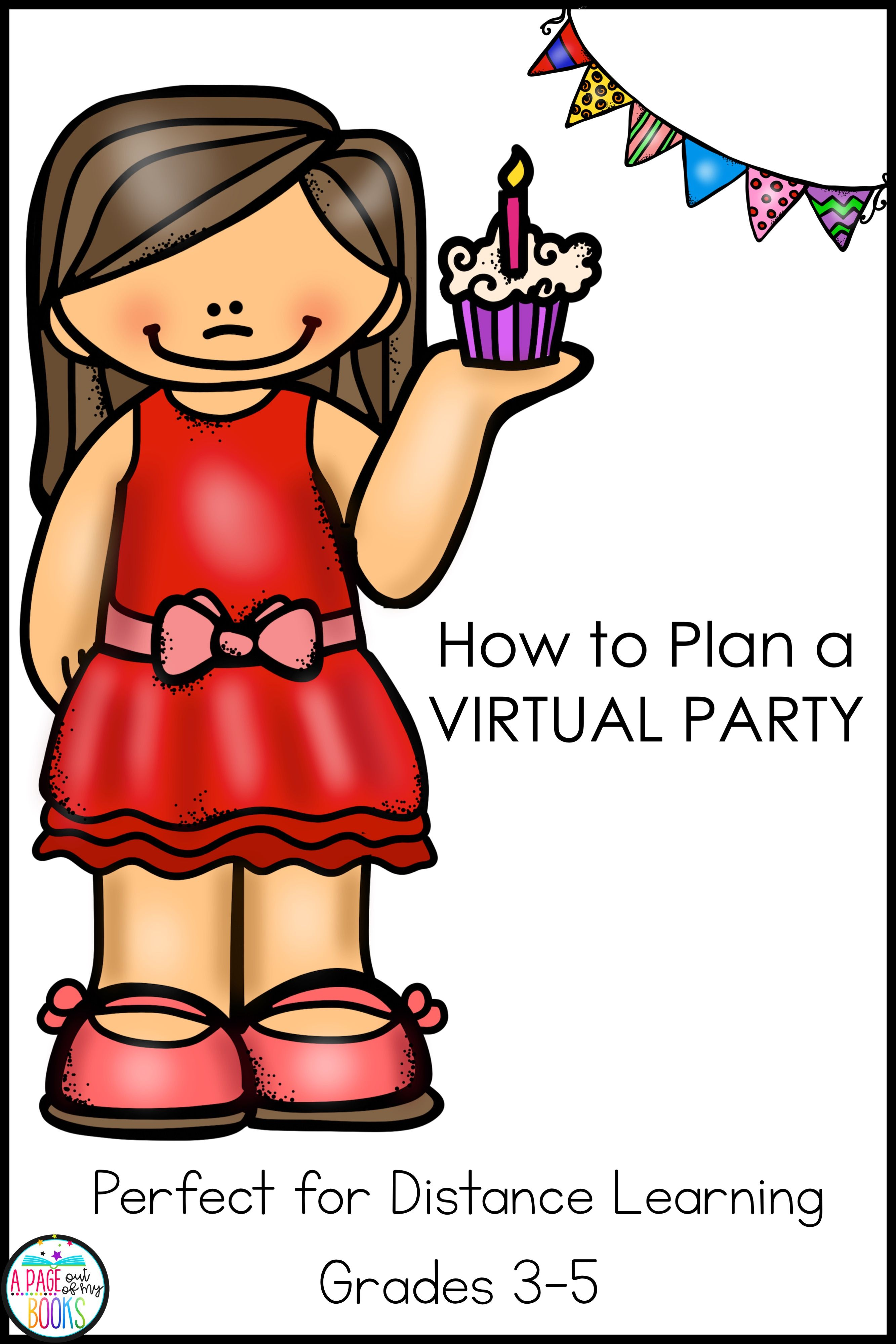 Classroom Distance Learning Plan A Party And Print