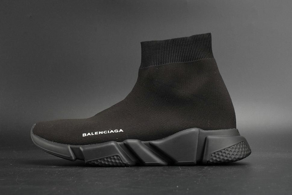 af294ed53d7 balenciaga sneakers speed trainer black off 57% - www.lalezan ...