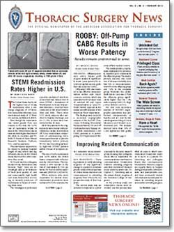 Thoracic Surgery News by AATS
