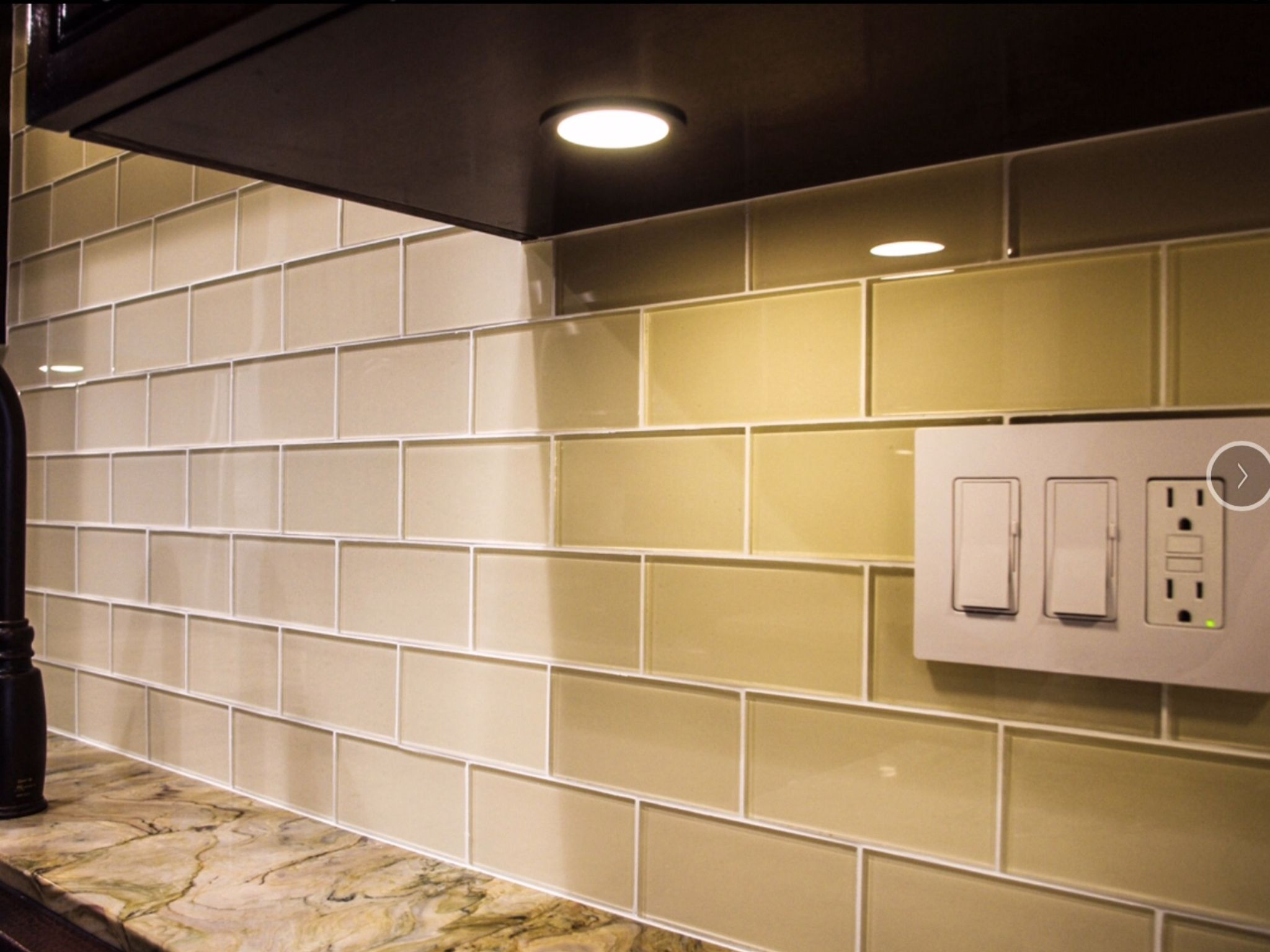 Glass Subway Tile Subway Tile Outlet Cream Kitchen Tiles