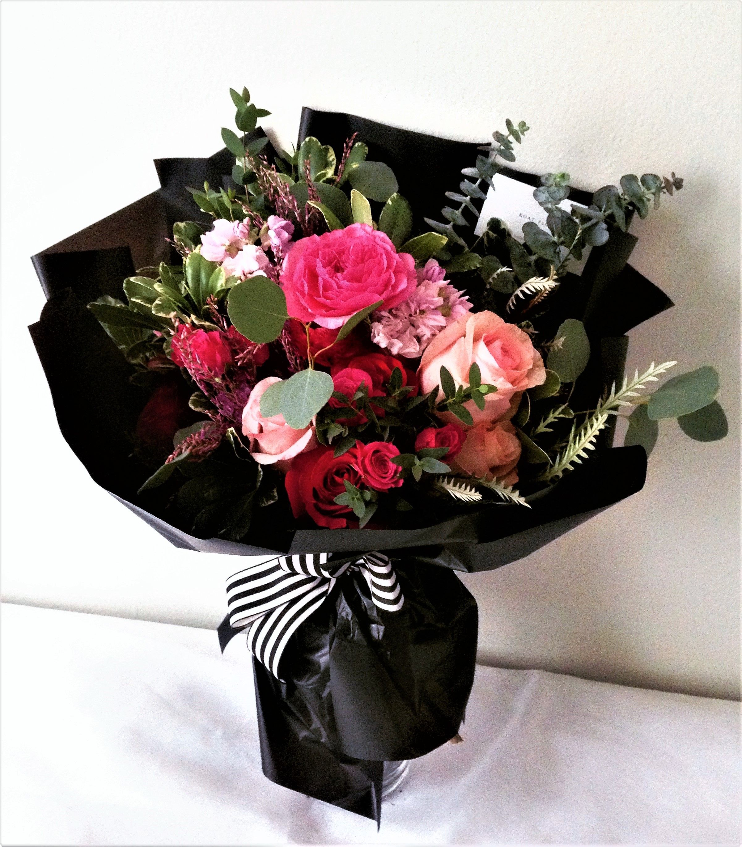 Send the Seasonal Handtied bouquet of flowers from Koat
